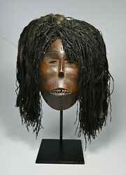 A Very Fine Old Luena African Mask Ex Banks Collection