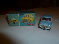 Triang Spot On 211 Austin Seven In Pale Powder Blue With Red Seats Plus Box 7