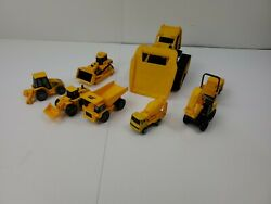 Toy State Industrial Cat Caterpillar Tractor Lot