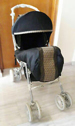 Aprica For Fendi Baby Stroller Carriage Ac 66902-l Model Limited Edition Design