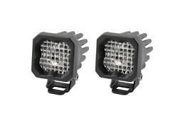 Diode Dynamics Stage Series C1 Led Pod Pro White Wide Standard Bbl Pair Dd6457p