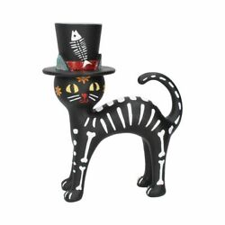 Cat In A Hat Figurine Day Of The Dead Statue Figurine By Nemesis Now