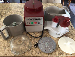 Robot Coupe R2 N Clr Food Processor 3 Qt. Gray Bowl Continuous Feed And Disc