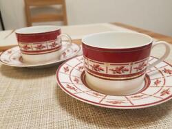 Raynaud 2 Sets Of Cups And Saucers Limoges