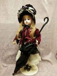 24 French Jumeau Incised 10 Very Attractive Doll