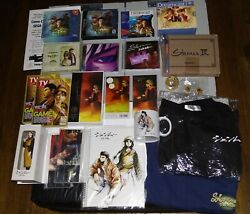 Shenmue Shrine Holy Grails Collection Ultra Rare T-shirt Ost Yu Suzuki Signed