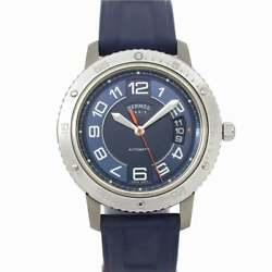 Hermes Clipper Sport Auto Cp2.741 Automatic Date Blue Dial Watch 90139681