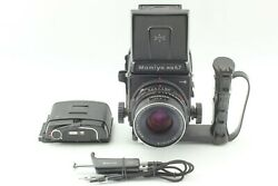 [ Top Mint ] Mamiya Rb67 Pro S Film Camera C 90mm Left Hand Grip From Japan