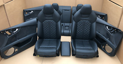 Audi A7 Supersport Exclusive C7 4g S7 S-line Leather Trim Leather Seats