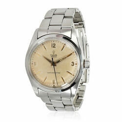 Tudor Oyster 7934 Unisex Watch In Stainless Steel
