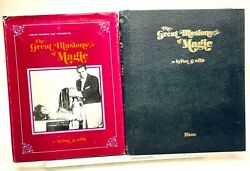 The Great Illusions Of Magic-wels-1st Ed-stage Illusion Blueprint-guillotine-oop