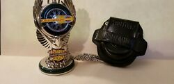 Franklin Mint,collectable Harley Davidson Pocket Watch, Knucklehead