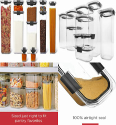 Rubbermaid Brilliance Pantry Organization And Food Storage Containers Set Of 10