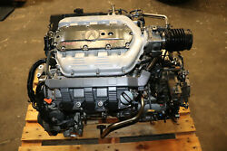 2009-2011 Acura Tl 3.5l J35z6 V6 Engine And Bk3a Automatic Transmission