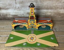 Rare Vintage Wyandotte Toys Tin Litho American Airlines City Airport