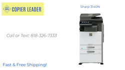 Sharp 3140n Low Meter-color Copier - Scanner - Print - Fax Finisher Included