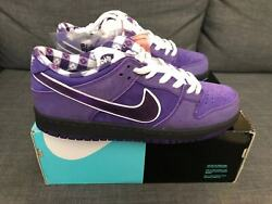 Nike Sb Dunk Low Concepts Purple Lobster Size 12 Brand New Ds