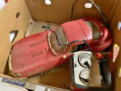 Rare Johnny Speed Battery Car And Boxed Accessories 55 Years Ago.