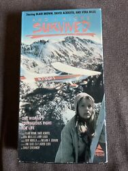 And i alone survived vhs vera miles $40.00