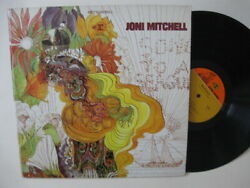 Joni Mitchell - Song To A Seagull - 1960s Reprise Red Steamboat Label Edition