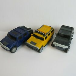 Mfg For Mcdonalds Toy Cars Trucks Bundle Of 3 Collectible