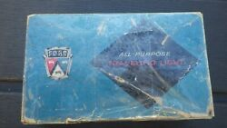 Vintage 50s 1960' S Ford Accessories Promo Fomoco Auto Travel Map Car Lamp Light