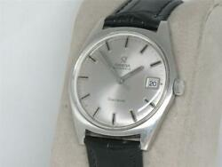 Vintage Mens 35mm Omega Geneve Signed 4x Stainless Automatic 166.041 Running