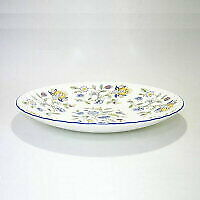 Minton Made In England Haddon Hall Blue 27cm Service Bowl