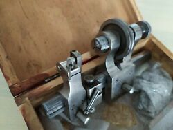 Watchmaker Lathe Atm Made In The Ukraine In Wooden Box
