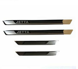 Car Accessories Outer Door Sill Scuff Plate Protector Guard For Volkswagen Jetta