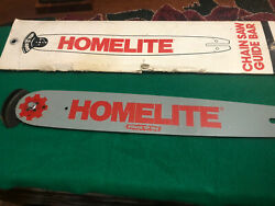 """Homelite Chainsaw Bar. 16""""x2-3/4"""" With Sprocket And Safty Tip. Pt 16381-g3"""