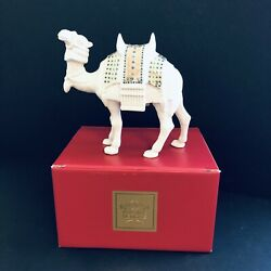 Nos Vintage Lenox China Jewels Nativity Camel Standing With Box 170552611 Usa