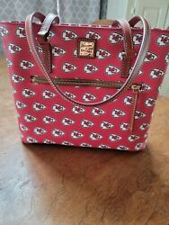 Dooney And Bourke KC Chiefs Shopper Tote $239.99