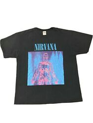 1992 Vintage Nirvana Sliver T Shirt Preowned Xl Heavy Weight Cotton. Anvil Tag