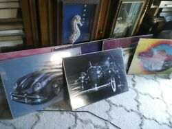 1980's Vintage Mike Pickel Pickle Aka Mr Bomb Mr Lowrider Car Posters In Wrapper