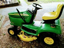 John Deere Tractor Lx 255 Does Need Tire @ Battery Pick Up Only
