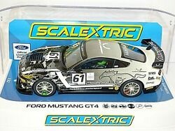 Scalextric Ford Mustang Gt4 No.61 Academy Motorsport 2020