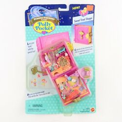 Polly Pocket 1996 Sweet Treate Shoppe Treat Shop Story Book New And Sealed