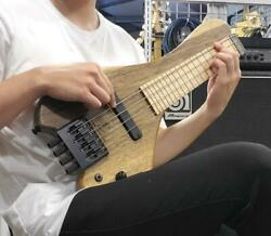 Wing Instruments Classic 4string Blacklimba Maple Electric Bass