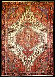 Oriental Rugs Hand Knotted Wool Pile Antiqueandnbsp 4and039 0 X 7and039 1