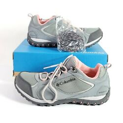 Nib Womenand039s Columbia Access Point Ii Waterproof Hiking Shoes - Size 10 Gray Pink