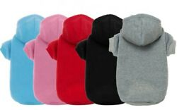 Pet Dog Clothes Puppy Coat Winter Hoodies Warm Sweater Jacket Clothing