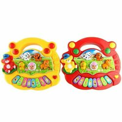 Organ Animal Farm Piano Music Toy Musical Instruments Toy Playing Instrument