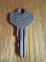 Vintage Key Taylor U.s.a. 182 Fits De4, D1098x Small Old Collectible Free Ship