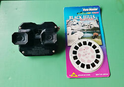 Vtg View-master Viewer 3 New 2003 Reels Black Hills And Crazy Horse Memorial 35096