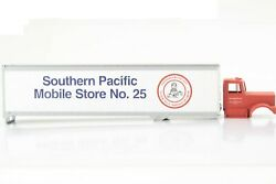 Ho Athearn Southern Pacific Kenworth Tractor And 40ft Mobile Store Trailer Kit