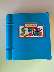 2 Vintage See And039n Say Story Maker Mattel 1991 Silly Sentences Book Tested Working