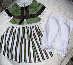 American Girl Doll Marie Grace Party Outfit Retired Set
