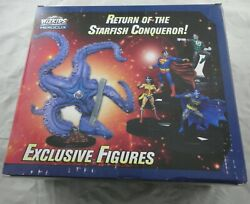 Heroclix 2019 Convention Exclusive Starro And The Justice League Promo Figure