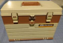 Plano 757 Tackle Box 4 Drawers Loaded With Lures Great Condition 60 Lures